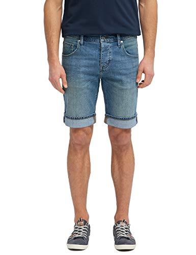 MUSTANG Herren Regular Fit 5-Pocket-Shorts Jeans