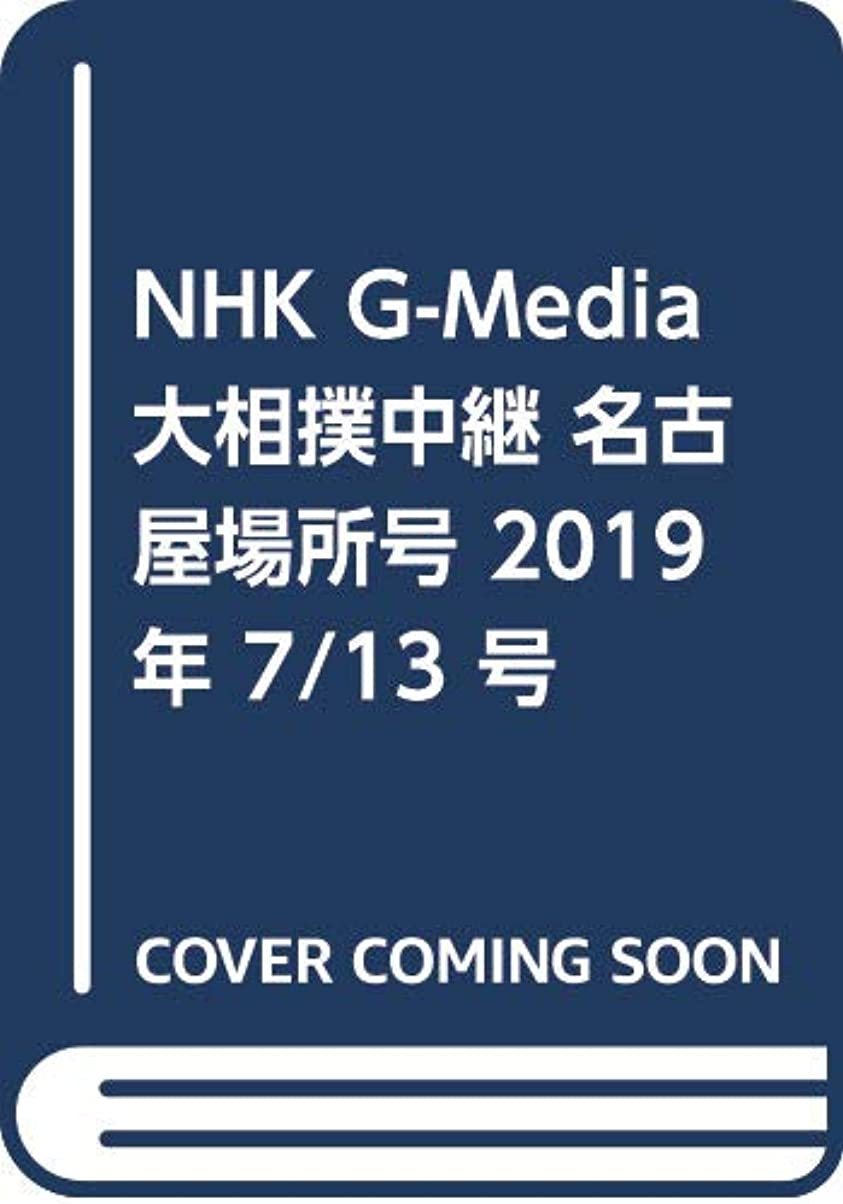 飛行機お客様ルビーNHK G-Media大相撲中継 名古屋場所号 2019年 7/13 号