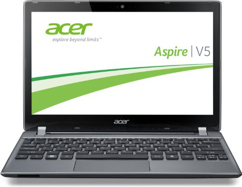 Acer Aspire V5-132P-21294G50nss 29,5 cm (11,6 Zoll) Notebook (Intel Pentium 2129Y, 1,1GHz, 4GB RAM, 500GB HDD, Intel HD GPU, Touchscreen, Win 8) silber