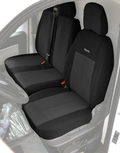 Ototop 88048 hoogwaardige stoelhoezen voor bestelwagens, zwart