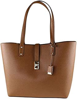 Michael Kors Women's Karson Large Carryall Leather Tote Bag - Luggage