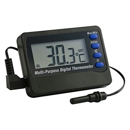Europet Bernina 227 103883 Digital Thermometer Mit Alarm Von 50 Bis 70c Programmierbar Haustier