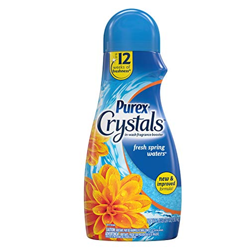 Purex Crystals in-Wash Fragrance and Scent Booster, Fresh Spring Waters, 39 Ounce