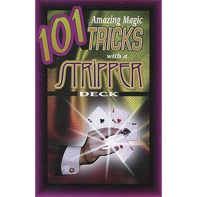 101 Trucos de magia asombrosos con una baraja de stripper por Royal Magic | Libro | Cartas magia | Primer...