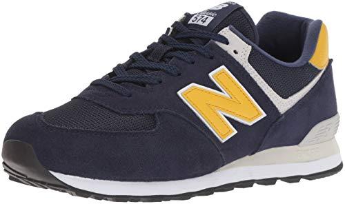 New Balance Men's 574 V2 Summer Sneaker, Pigment, 7 2E US