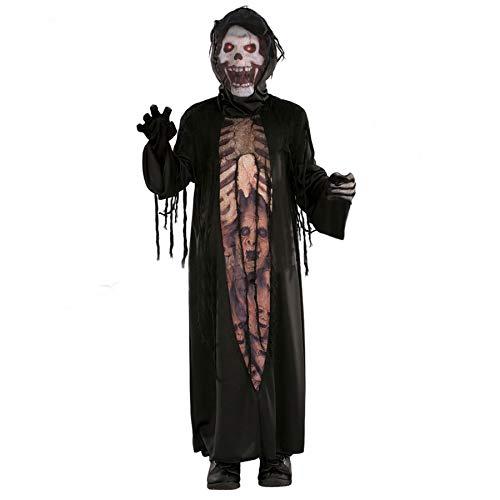 Forever Young - Disfraz de muerte con esqueleto para niños pequeños, para Halloween
