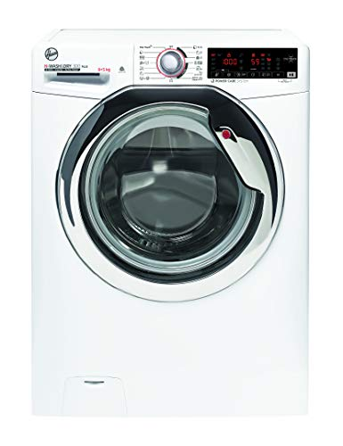 Hoover H-WASH 300 H3DS595TAMCE/1-S Waschtrockner / 9 kg Waschen / 5 kg Trocknen / 1500 U/Min / BPM Inverter Motor / Power Care System / ActiveSteam: Dampf-Funktion / NFC-Technologie