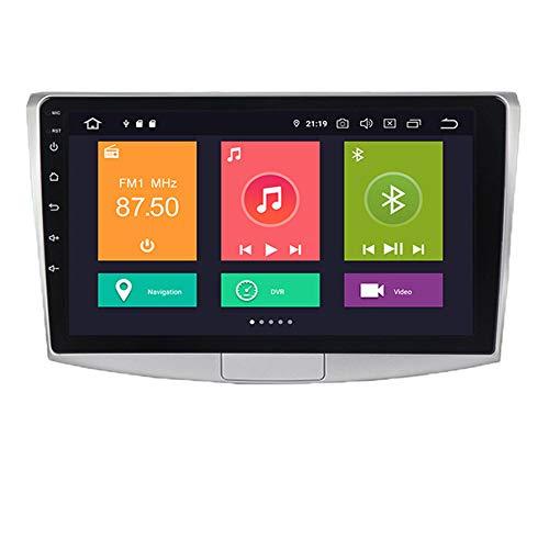 Pantalla Android 10 pulgadas de 10 pulgadas, adecuada para la navegación del automóvil de control central modificado por Volkswagen Magotan Passat B5, Auto Stereo Radio Audio, DSP integrado,Px6