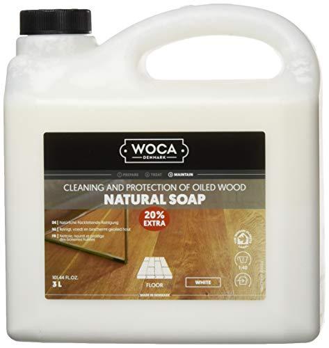WOCA 511130A Holzbodenseife weiß 3 Liter
