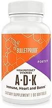 Bulletproof Vitamins A-D-K, High Potency, Heart, Bone and Immune, Vitamins A, D3 (5,000 IU), K1, K2 (MK7 and MK4), No Soy