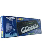 BIGFUN (New Fun) 37 Key Piano Keyboard Toy with Recording and Mic and Mobile Charger Power Option Battery Operated