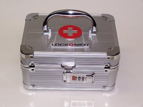 LockMed medicijnkoffer met cijferslot, klein