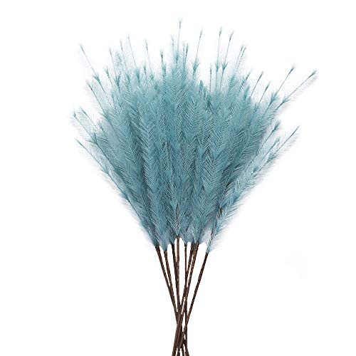 "UiiziC Artificial Flowers Pampas Grass 30""/ 76cm Ascendant Grass Fake Flowers..."
