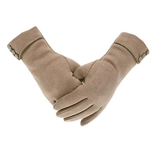 Huixin Winter Handschuhe Damen Touchscreen Handschuhe Jungen Mit Warme Fahrradhandschu