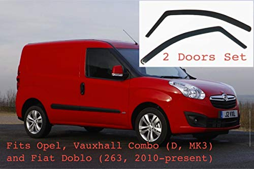 Out Channel Rain Guard Window Visor Light Tint 4pcs For 1999-2007 Mazda MPV