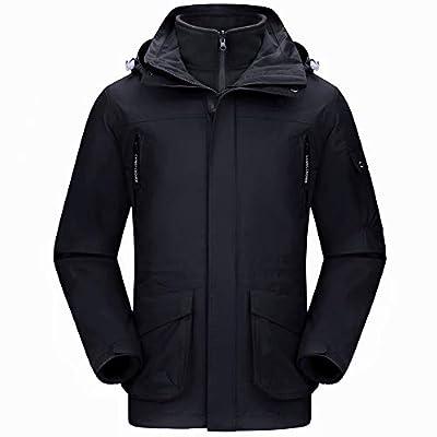 CAMEL CROWN Waterproof Ski Jacket 3-in-1 Women's/Men's Outdoor Mountain Windproof Fleece Warm Coat for Rain Snow Hiking