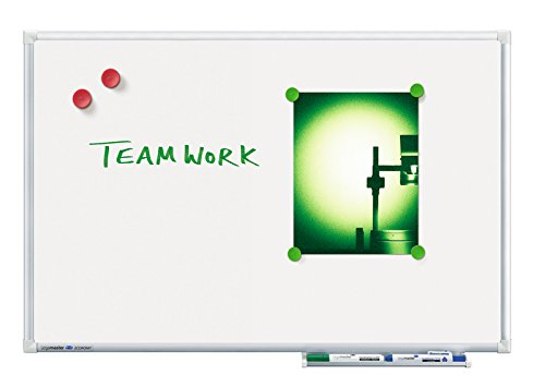 Legamaster 7-102863 Whiteboard Economy, Speziallackierung, magnethaftend, 150 x 100 cm