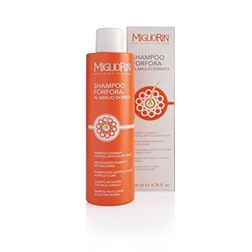Migliorin Shampoo de pellicules à l'orbite sans gouttes 200 ml