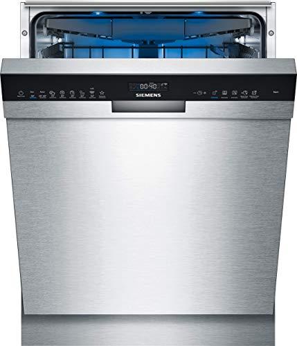 Siemens SN45ES57CE iQ500 Unterbau-Geschirrspüler / D / 85 kWh / 14 MGD / Smart Home kompatibel via Home Connect / varioSpeed Plus / Glas 40° Programm