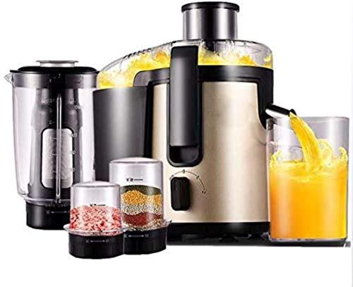 Qinmo Exprimidoras, multifuncional fruta del hogar y verduras exprimidor, de alta potencia de acero...