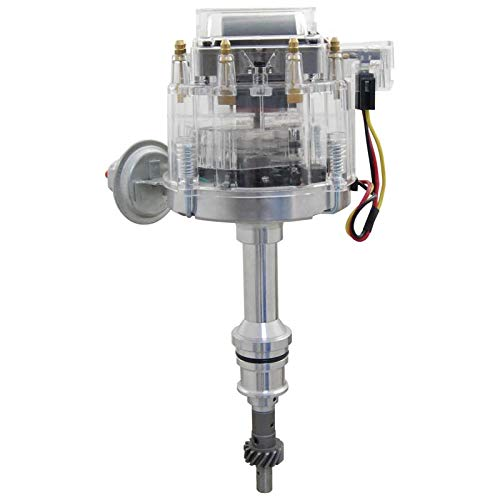 New HEI Distributor Fits Replacement Ford 351W 5.8 V8 SBF Direct Fit HEI Replacement