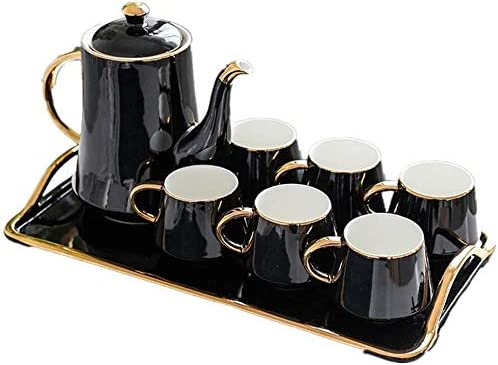 Tea Cup Set Coffee Cups Co Drinkware Afternoon Pieces 8 Cheap mail order sales List price
