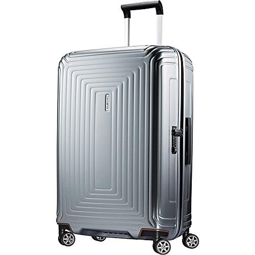 Samsonite Neopulse Hardside Luggage, Metallic Silver, Checked-Medium