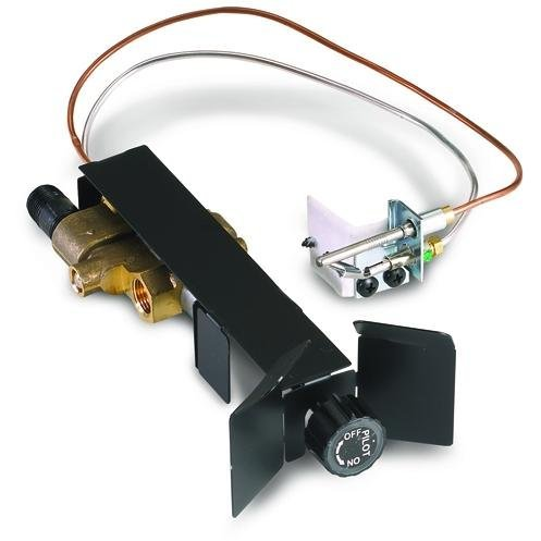 Real Fyre SPK-26 Manual On/Pilot/Off Valve Standing Pilot, Low Profile, Natural Gas