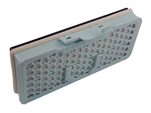 vhbw Filtro Hepa antialérgico para Aspirador Robot Aspirador Multiusos LG VC6820NHTQ, VC9062cv, VC9083CL, VC9093S, VC9095r, VC9098nt, VC9202cv