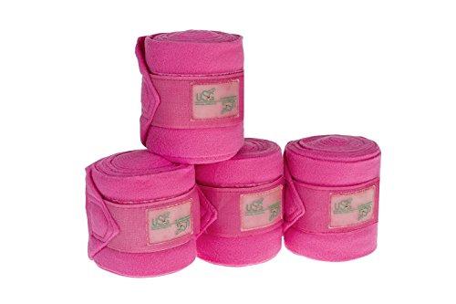 USG Fleecebandagen (Set mit 4 Stück), pink, 3 m, 12 cm