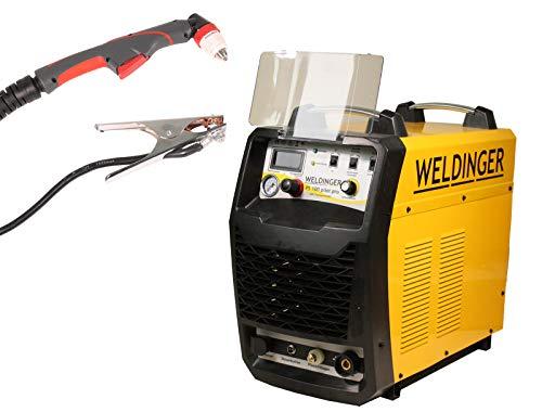 WELDINGER Plasmaschneider PS 100 pilot pro 100 A Stahl bis 40 mm Pilotlichtbogen Druckregler 5 Jahre Garantie