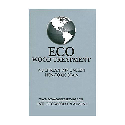 Eco Wood Treatment EWT5 5 US Gallon, Long Lasting, Silvery Patina | Semi-Transparent (1 Pack)