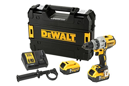 DeWalt DCD991P2-QW Perceuse-visseuse XRP 18V - Moteur sans charbon BRUSHLESS - 2 batteries 18V Lithium-ion 5 Ah - Puissante LED - Chargeur inclus - Mallette TSTAK incluse