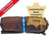 tama/ños grandes tama/ño A1 1 kg decoraciones manualidades restos de cuero zapatos Recortes de cuero restos de cuero azul reparaciones alta calidad ideal para bolsos