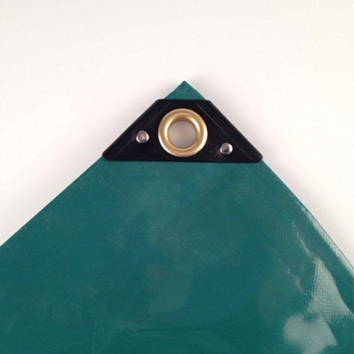 650 g/m² Abdeckplane 1,5 x 6m (9m²) PVC grün LKW Plane Industrie Gewebeplane ÖsenUV stabil reissfest wasserdicht Plane Schutzplane