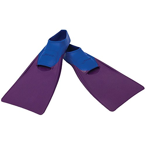 FINIS Long Floating Fins , Blue/Purple, XXXXS (Jr 6-8)