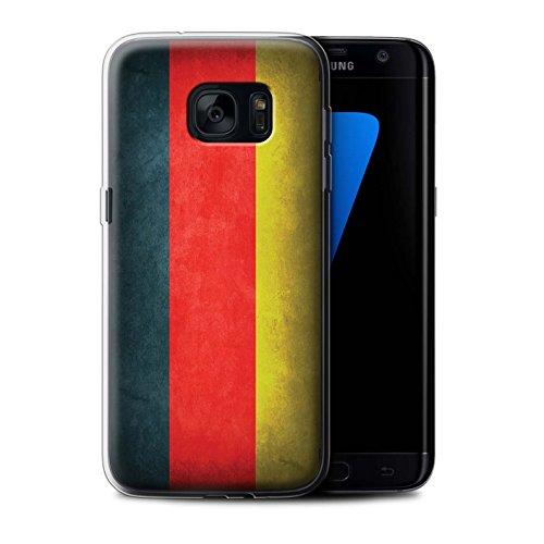 Stuff4 Gel TPU Hülle/Case für Samsung Galaxy S7 Edge/G935 / Deutschland/Deutsche Muster/Flagge Kollektion