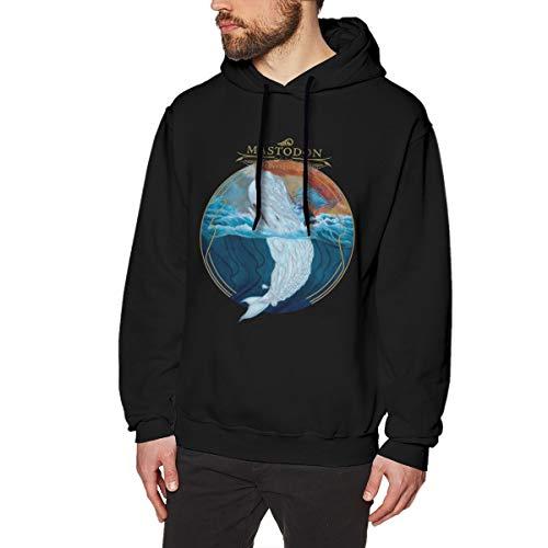 Mastodon Leviathan Men Long Sleeve Printed Hoodie Unique Design Sweatshirt Sweatshirts Black