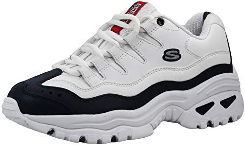 Skechers Sport Women's Energy White/Navy Sneaker 9 M US