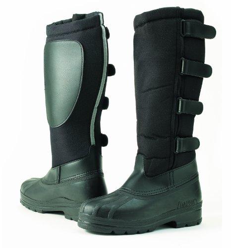 Ovation Erwachsene DAFNA Blizzard Winter Stiefel, Schwarz - schwarz - Größe: 19 EU
