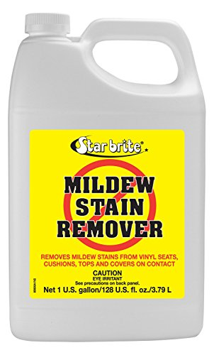 Star brite Mold Stain & Mildew Stain Remover + Cleaner – Lifts Dirt & Removes Stains on Contact - Gallon Size