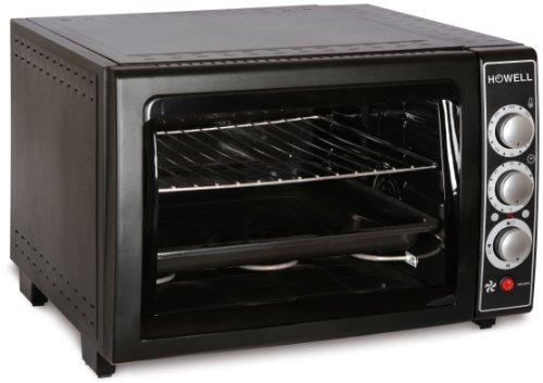 Howell HO.FE5510L - ovens (freestanding, Electric, Black, Rotary, Mechanical, 0-320 °C)