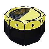 Gabbie Box per Animali da Compagnia Pieghevole Canile da Cortile per Piccoli Animali Domestici, stuoia per Interni in Stoffa di Oxford, Case per Piccoli Animali Domestici (Dimensioni : 72×45cm)