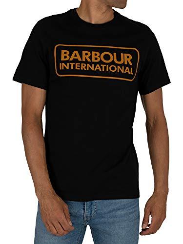 Barbour International Graphic tee Black-L