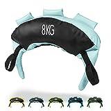 POWRX Saco Búlgaro 8 kg - Bulgarian Bag Ideal para Ejercicios de Entrenamiento Funcional...