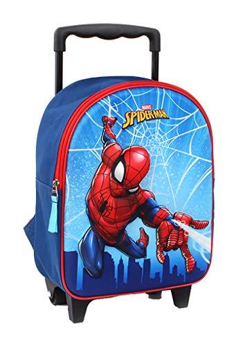 Bagage (zakken, schooltas, etui, paraplu) Spiderman fantasie rugzak trolley 3D Spiderman 200-9450, 31 x 25 x 12 cm