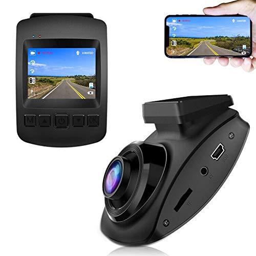 【2020 Nouvelle Version】 CHORTAU Caméra de Voiture WiFi...