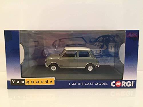 Corgi VA02537 Morris Mini MK1 998cc Cooper en Tweed Gris & Ancien Anglais Blanc