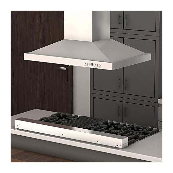 Zline rt36 36-inch porcelain rangetop with 6 gas cooktop italian burners with cast iron grill stovetop, stainless steel 3 heavy duty italian made porcelain one piece cook top with 6 burners provide the perfect range of cooking power from 4,200 to 18,000 btu's. Durable and easy to clean top controls. Italian burners easily detach for a simple clean. Solid-piece cast iron grill - heavy duty and built to last. Extremely durable, with an exceptional strength-to-weight ratio.