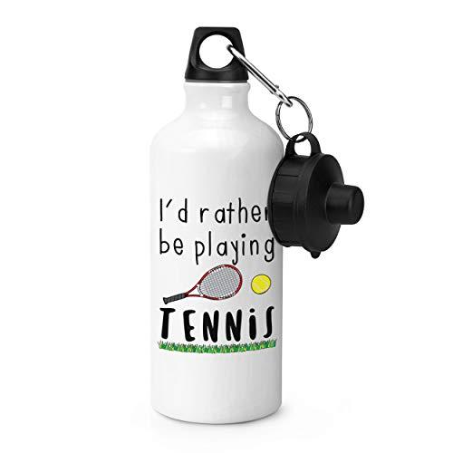 Gift Base I'd Rather Be Spielen Tennis Sport Flasche